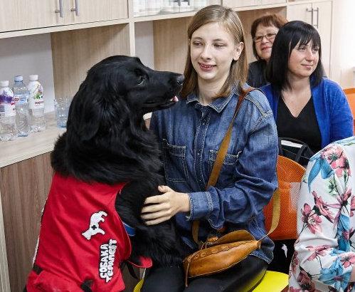 В Харькове расширят применение пет-терапии