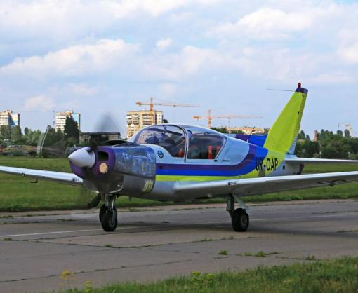 В Украине испытывают новый самолет «Дельфин»