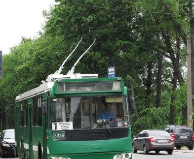 В Харькове полдня не будут ходить троллейбусы на Восточный