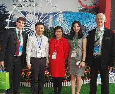 Харьков впервые представили на туристической выставке в Китае