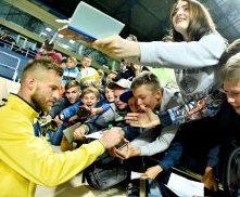Сборная Украины по футболу проведет в Харькове открытую тренировку