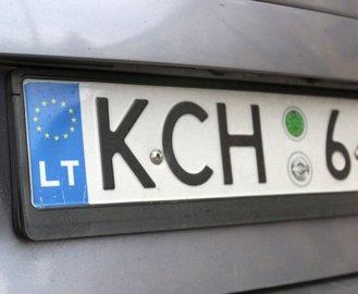 И снова о «евробляхах»: владельцам авто с литовскими номерами пора запасаться документами