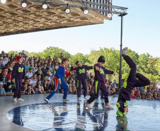 В Харькове прошел фестиваль уличных культур