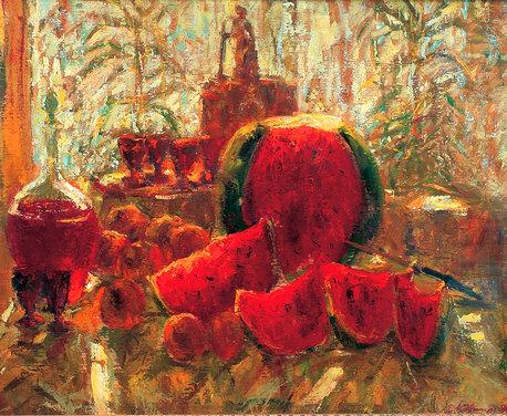 Харьковчанам презентуют живопись известного художника