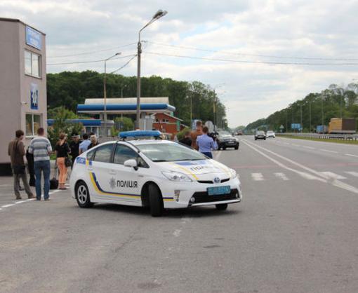 На трассе под Харьковом выставлены усиленные патрули