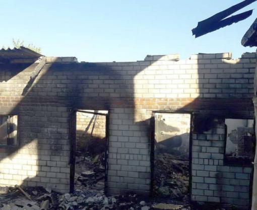 Пожар в Харьковском районе: сгорела баня, есть пострадавший
