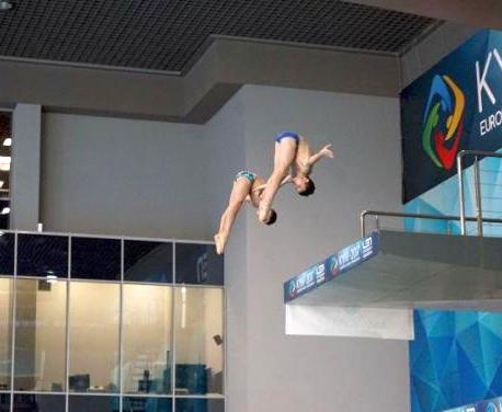 Юные харьковчане завоевали медали чемпионата Украины по прыжкам в воду