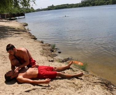 В Харьковской области успели утонуть два человека
