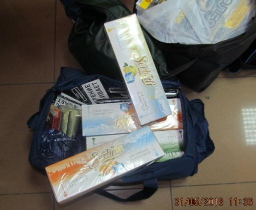 Харьковские таможенники обнаружили табак для кальянов в День борьбы с курением