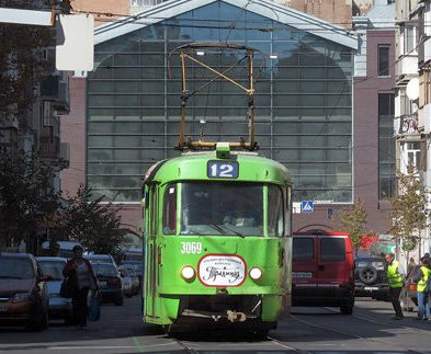 В Харькове изменяется движение трамваев
