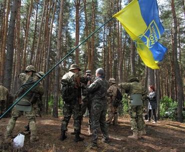 В Харькове формируют Украинский легион