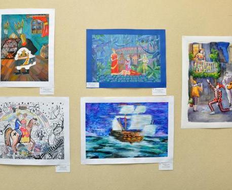 В харьковской галерее пройдет творческая встреча с авторами выставки детских работ