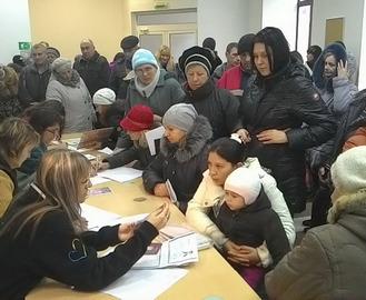 Переселенцам в Харькове помогут вернуться к мирной жизни