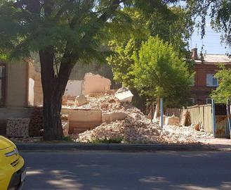 В Харькове разрушили дом Синяковых