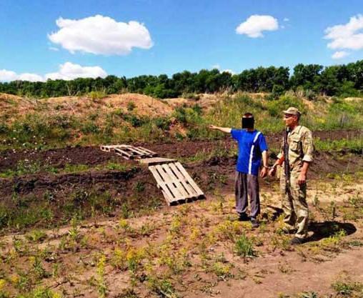 Харьковские пограничники поймали контрабандиста
