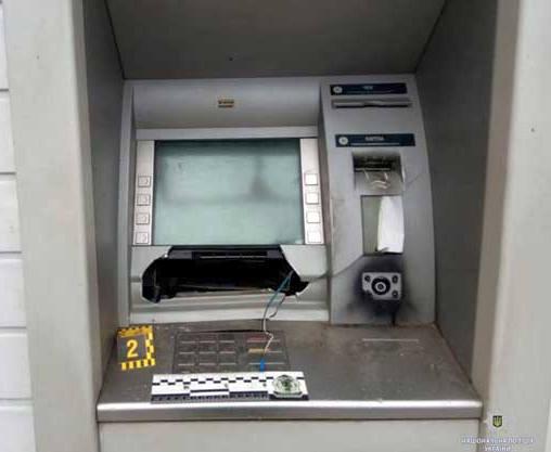 В Харькове взорван банкомат