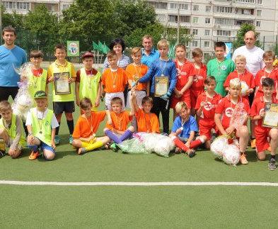 В Харькове прошел футбольный турнир районного масштаба