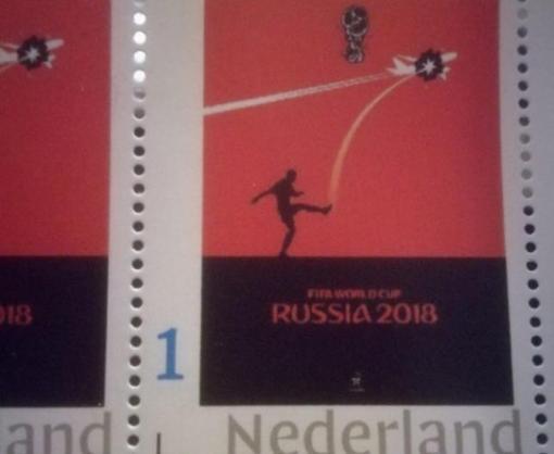 В Нидерландах появилась почтовая марка с антироссийским плакатом к ЧМ-2018