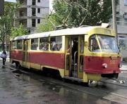 В Харькове на улице Гольдберговской ограничивается движение транспорта и меняется движение трамваев