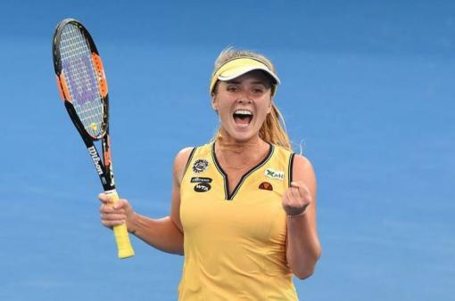 Элина Свитолина впервые вышла в четвертьфинал турнира в Бирмингеме
