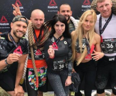 Харьковчане победили в командном забеге в Киеве