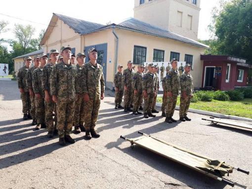 Как харьковские военные поддержали побратимов