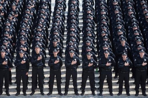 В Харькове можно будет поиграть с полицейскими