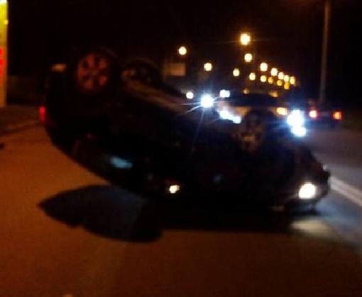 ДТП в Харькове: выпивший водитель врезался в столб