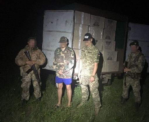 В Харьковском районе поймали контрабандиста из России