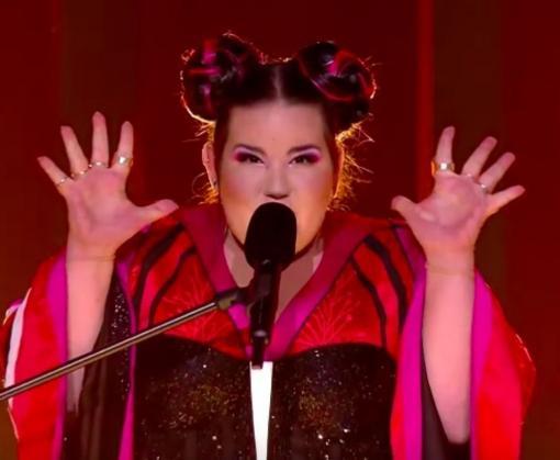 Победительница «Евровидения-2018» снимает клип в Киеве