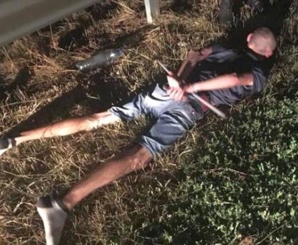 Погоня в Харькове: пьяный водитель протаранил машину патрульных