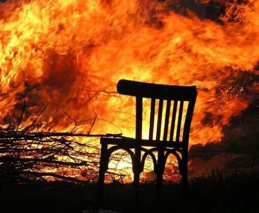 Пожар в Харькове: горела девятиэтажка