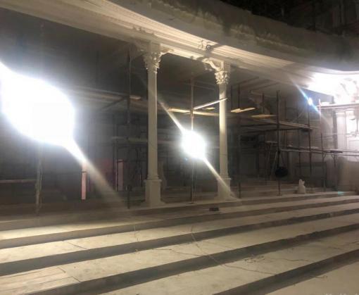 В большом зале Харьковской филармонии начнут укладывать паркет