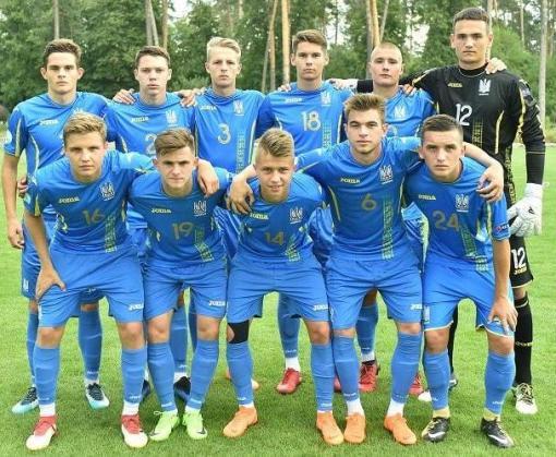 Сборная Украины среди 19-летних обыграла Францию на юниорском Евро