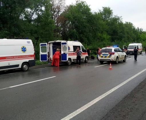 ДТП под Харьковом: трое пострадавших