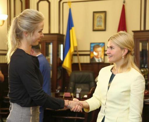Харьковчанка Элина Свитолина получила орден