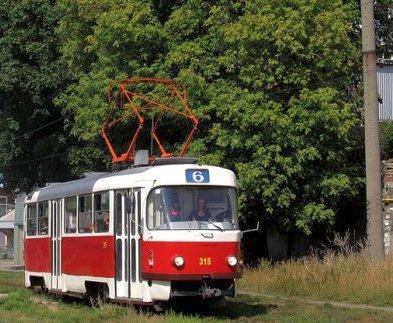 В Харькове два трамвая на два дня изменят схему движения