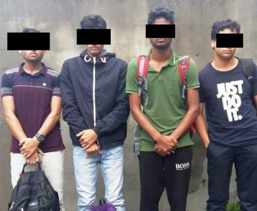 Харьковские пограничники задержали граждан Бангладеш
