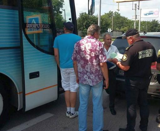В Харькове проверяют пассажирские автобусы