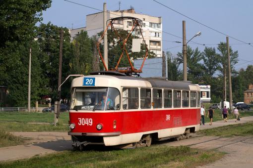 Трамвай №20 временно ходить не будет