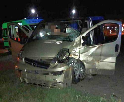 В Харькове на окружной автодороге в ДТП пострадали люди