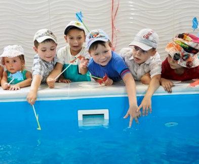 В Харькове открыли детский бассейн с солнечным подогревом