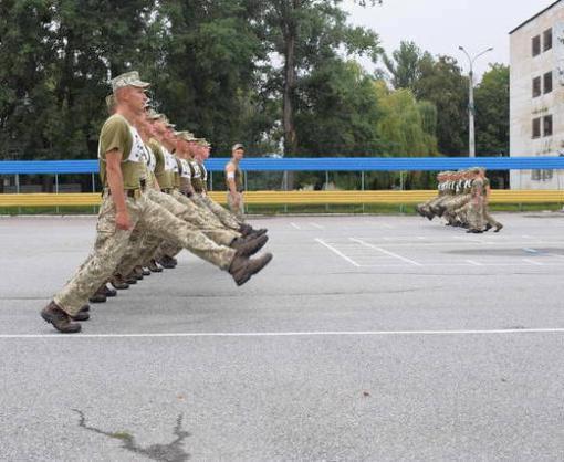 Харьковские курсанты готовятся выехать в Киев