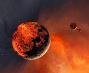Ученые нашли воду на южном полюсе Марса