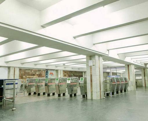В харьковском метро закроют выходы из станции «Героев Труда»