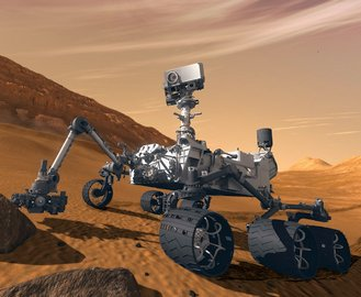 На Марсе нашли воду