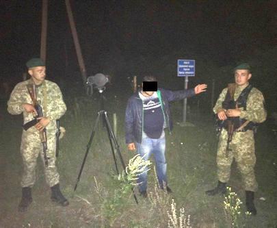 Тепловизор харьковских пограничников засек нелегала из России
