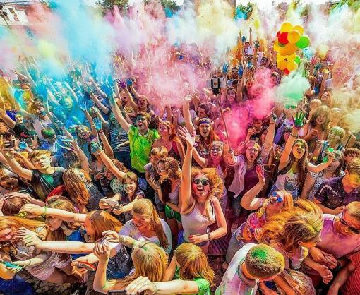 В харьковском парке Горького пройдет очередной фестиваль красок