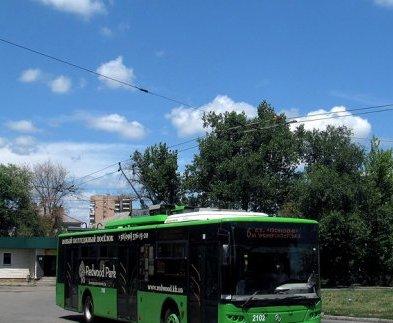 Троллейбус от Основы пойдет другим маршрутом