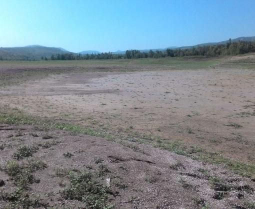 В Крыму полностью высохло русло одной из крупнейших рек